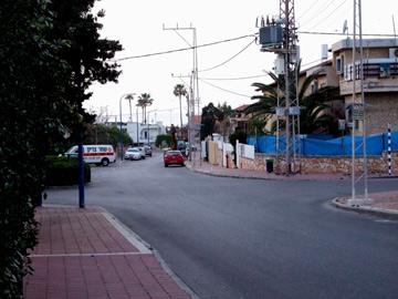 רחוב באשדוד. אני אוהבת את פשטות ההליכות בעיר שלי (צילום: גליה גוטמן)