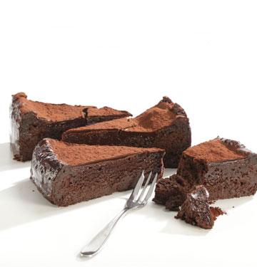 עוגת שוקולד וקוקוס (צילום: כפיר זיו)