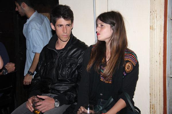 עוד זוג יציב. ליאל דניר והחבר (צילום: ניר פקין)