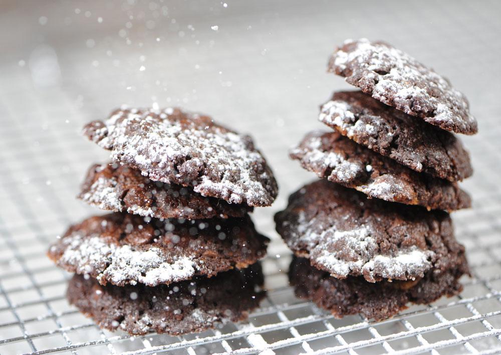 פאדג'יות ועשירות. עוגיות שוקולד כשרות לפסח (צילום: דודו אזולאי)