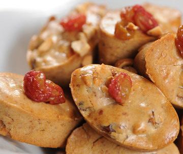 עוגיות בוטנים עם צימוקים ורום (צילום: דודו אזולאי)