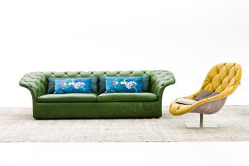 ספה וכורסה מבית ''מורוסו'' (באדיבות טולמנ'ס)