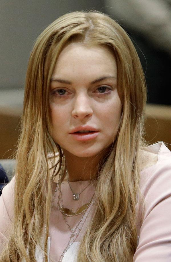 עסקת טיעון. לוהן בבית המשפט בלוס אנג'לס בשבוע שעבר (צילום: gettyimages)