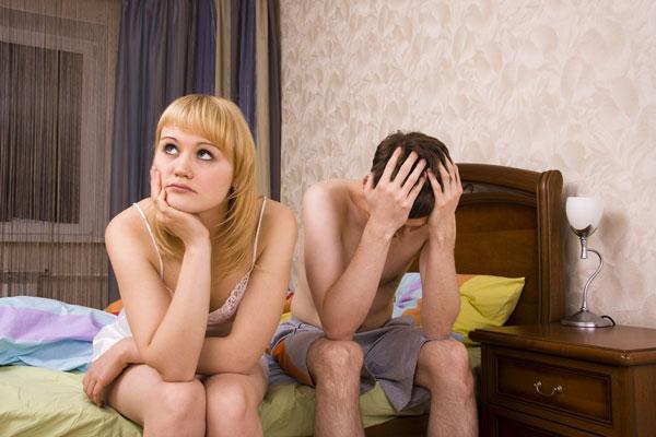 ''מה, שוב סקס? אולי נשחק שבץ-נא?'' (צילום: shutterstock)