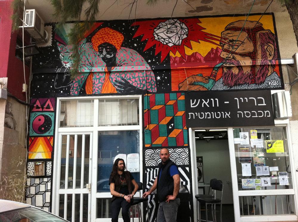 חיים תוססים בהדר הכרמל. רחוב מסדה הוא מרכז ההיפסטרים, אך גם מסביבו כבר מרגישים את התכונה, עם קהילה פתוחה שמקבלת יהודים, ערבים, הומואים ולסביות, חיפאים ותיקים וחדשים (צילום: גילה זמיר)