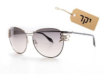 לפנים מלבניות: משקפיים אובליים, 2,259 שקל, רוברטו קוואלי  (צילום: אופטיקנה)