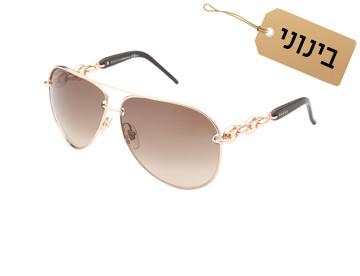לפנים מלבניות: משקפיים אובליים, 1,099 שקל, גוצ'י  (צילום: ערן תורג'מן)