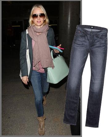 נעמי ווטס קז'ואלית בג'ינס של Hudson לגוסיפ (1,390 שקל) (צילום: splashnew/asap creative, אבי ולדמן)