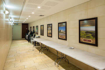 האולם החדש והתת-קרקעי (צילום: טל ניסים)