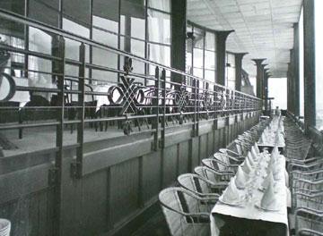 המסעדה בתצלום מהמאה שעברה. המטרה היא להגדיל הכנסות (באדיבות Moatti-Rivière architectes)