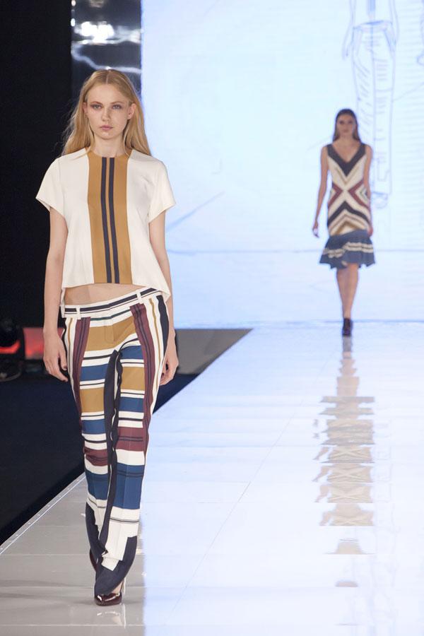 מחסור בשיאים: תצוגת האופנה של סמפל (צילום: ענבל מרמרי)