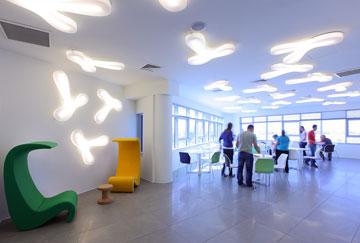 משרדים חדשים בפארק ההיי-טק בבאר שבע: נס טכנולוגיות כבר כאן. אדריכלים: אורבך הלוי (צילום: עוזי פורת)