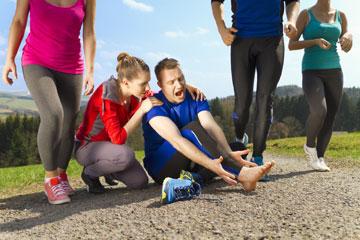 לאנשים שהחלימו מפציעת ספורט מומלץ לחזור להליכה ולא לריצה (צילום: shutterstock)