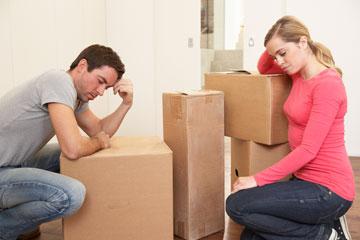 האבל והפרידה הרגשית מהאישה והחיים שבנה (צילום: shutterstock)