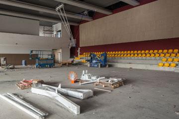 כך ייראה האולם מבפנים. עלות ההקמה - 14 מיליון שקל (צילום: טל ניסים)