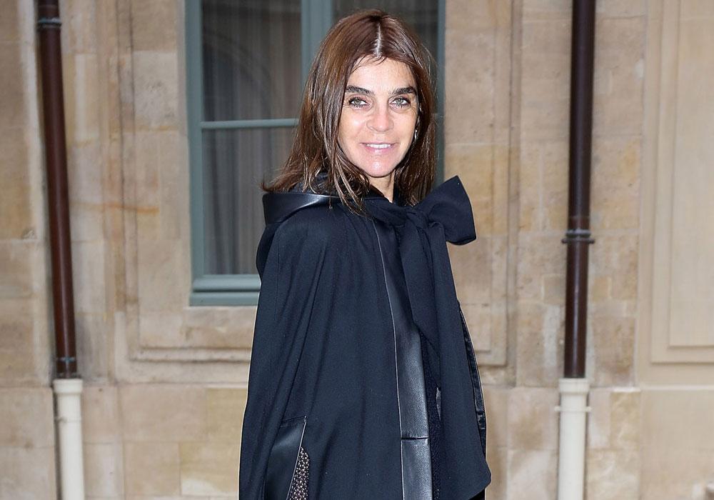 קארין רויטפלד. אחת מאושיות האופנה הבכירות והנודעות בעולם (צילום: gettyimages)