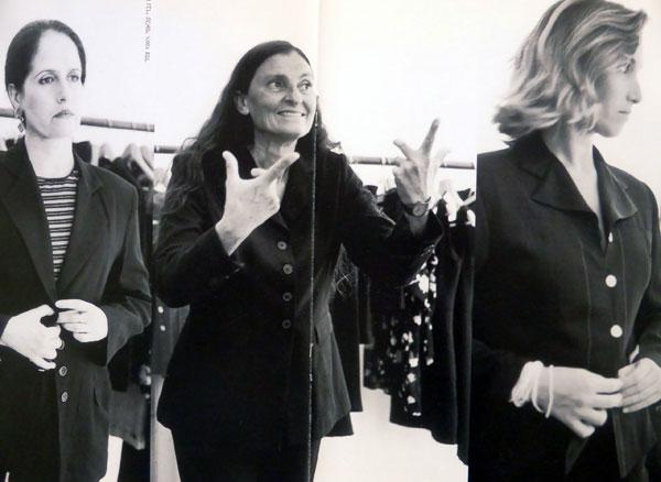 """לתופעת התמקצעות הדוגמניות התלוותה תחושת אי שביעות רצון גוברת בקרב הנשים ה""""אמיתיות"""", 1996 (צילום: סטיב ניימן)"""