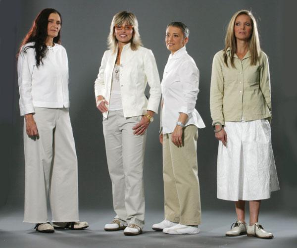ישנו קושי מפתיע לקדם תמונות אופנה המצולמת על נשים שאינן דוגמניות, 2006 (צילום: אבי ולדמן)