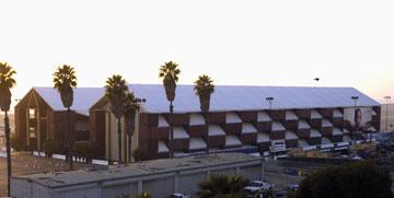המוזיאון הנודד בסנטה מוניקה, קליפורניה, 2006 (צילום: gettyimages)