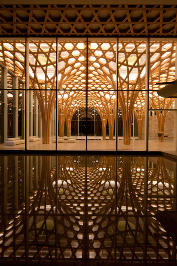 כשעץ הוא הרבה יותר מזה: פרויקט של שיגרו באן (צילום: Shigeru Ban Architects)