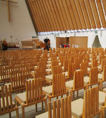 הכנסייה של שיגרו באן בניו זילנד (צילום: ציפי ריבה)