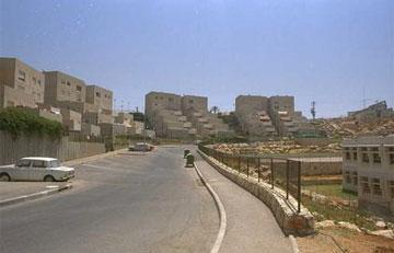 אלפי מנשה, 1989. גם הוא השתתף בבנייה מעבר לקו הירוק (צילום: צביקה ישראלי)