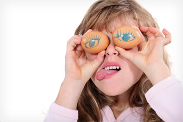 הופכים ביצה פשוטה לארוחה מצחיקה (צילום: shutterstock)