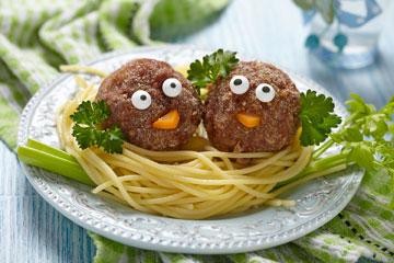 מנה שגרתית הופכת לסיפור מצחיק. ספגטי עם כדורי בשר (צילום: shutterstock)