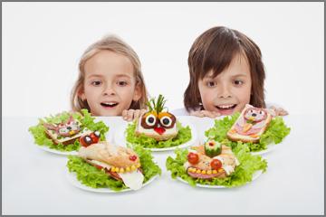כריכים מחופשים - כל ילד ימצא משהו שהוא אוהב (צילום: shutterstock)