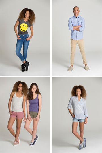 פוקס. בגדי בייסיק חלקים ומוצלחים לנשים ולגברים (צילום: גיא כושי ויריב פיין)