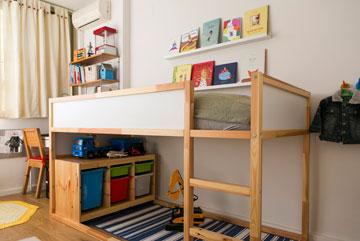 """ו""""אחרי"""": חדר ילדים מנוצל היטב (צילום: שירן כרמל)"""