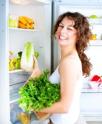 כל ארוחה, כולל ארוחת ביניים, צריכה להתחיל בירקות (צילום: shutterstock)