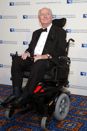מייקל גרייבס. רותק לכיסא גלגלים ואז החל לעצב למוגבלים (צילום: gettyimages)
