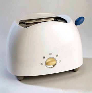 אחד הטוסטרים הפופולריים שעיצב גרייבס. עיצוב לכולם (צילום: MCT)