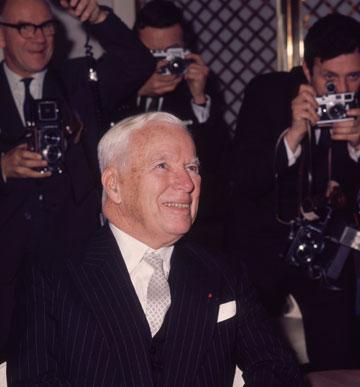 צ'ארלי צ'פלין, 1965 (צילום: gettyimages)