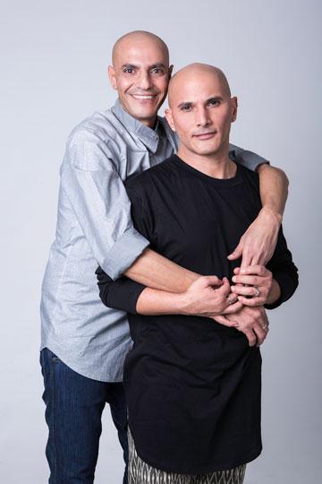 """""""מעבר לזה שאנחנו הומואים - הכל רגיל, ממש משפחה לדוגמה"""". אפי יריב (צילום: ניר סלקמן)"""