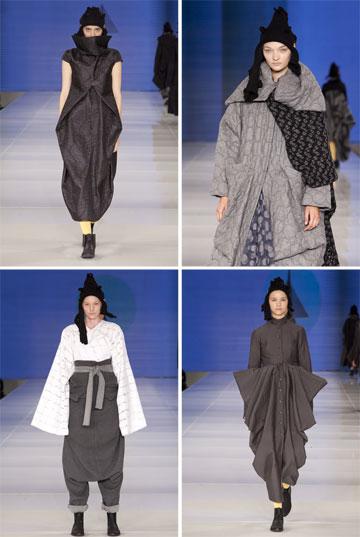 תצוגה של ששון קדם בשבוע האופנה גינדי תל אביב. המעצב המוערך נוקט בשורה של שינויים בעסק (צילום: ענבל מרמרי)