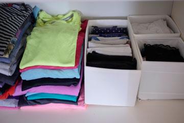 חלקו את הבגדים לקטגוריות: ספורט, ערב, יומיומי, בית (צילום: אוריה תדמור )