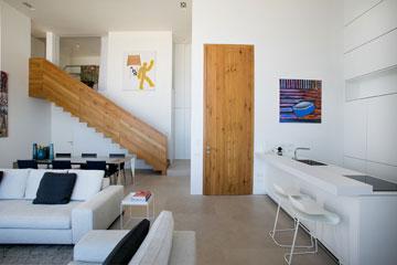 דלת הכניסה גבוהה במיוחד (צילום: שירן כרמל)