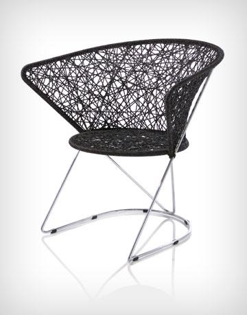 כיסא מקולקציית GAGA של קאופמן (צילום: שי בן אפרים)