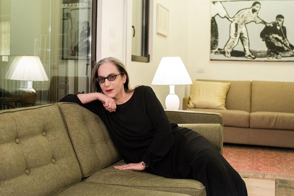 המארחת: דורין פרנקפורט, ממעצבות האופנה הבולטות בישראל עם ותק של 31 שנה בתחום (צילום: עמית גושר)
