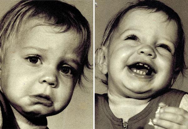 תמונות ילדות שלי - ברגעים סמוכים של גאות ושפל