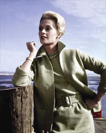 היצ'קוק ביקש שהיא תלבש ירוק. הדרן (צילום: gettyimages)