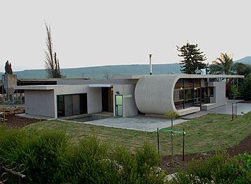 בית במושב מעל הכינרת, בתכנון אורי כהן (צילום: דוד עדיקא)