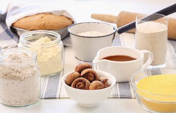 שבלולי כוסמין שמרים ושוקולד (צילום: כפיר חרבי, סגנון: דלית מרחב)