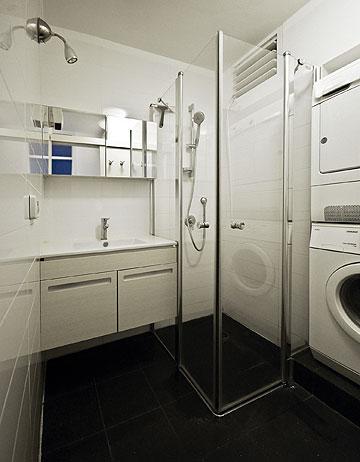 חדר רחצה פונקציונאלי (צילום: יהב מרום)