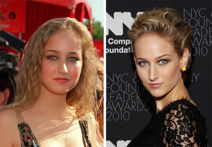 שני עשורים, שתי בחורות שונות. סובייסקי היום (מצד ימין) ובשנת 1999 בגיל 16 בלבד (צילום: gettyimages)