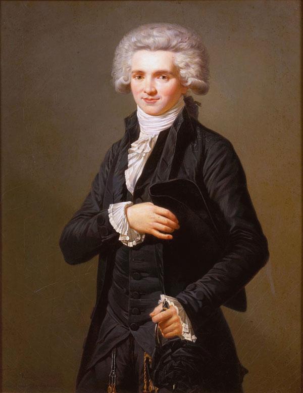 (Robespierre by Adlade Labille Guiard, 1786)