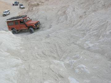 פותחים ציר (צילום: שבילים במדבר)