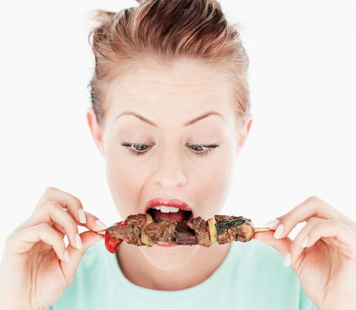 הימנעו מאכילת נתחי בשר חרוכים (צילום: thinkstock)